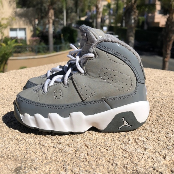 8a51daddd7f Jordan Other - Air Jordan Retro 9 Cool Grey Toddler shoes sz 5c